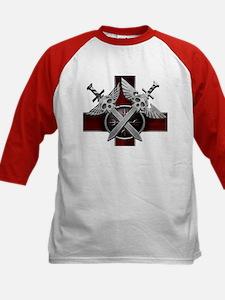 Swords w/Crest Red Tee