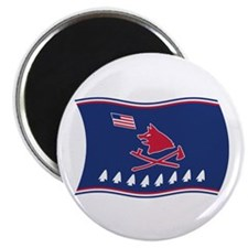 """Pawnee Flag 2.25"""" Magnet (100 pack)"""