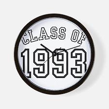 Class of 1993 Wall Clock