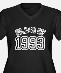 Class of 1993 Women's Plus Size V-Neck Dark T-Shir