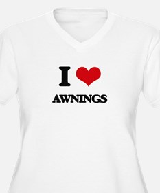 I Love Awnings Plus Size T-Shirt