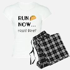 Run Now, Tacos Later Pajamas