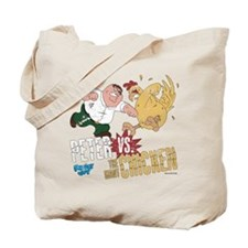 Peter vs. The Giant Chicken Tote Bag