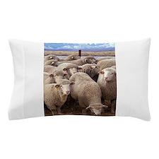 Flock of Sheep Pillow Case
