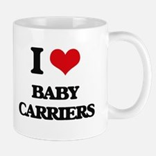 I Love Baby Carriers Mugs