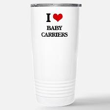 I Love Baby Carriers Travel Mug