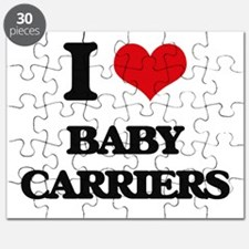 I Love Baby Carriers Puzzle