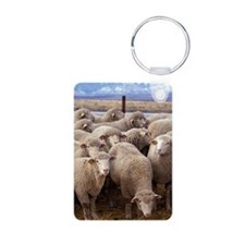 Flock of Sheep Keychains