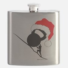 Sisyphus Kettlebell Christmas Flask