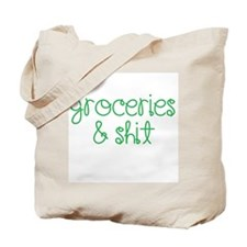 The Blunt Grocery Bag Tote Bag
