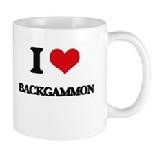 I Love Backgammon Mugs