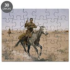 Frederick Remington The Flight Puzzle