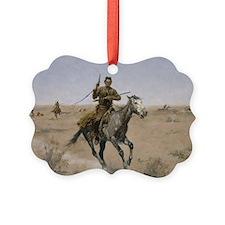 Frederick Remington The Flight Ornament