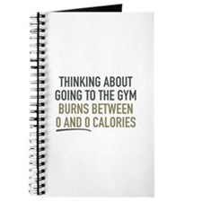 Thinking About Going To The Gym Journal