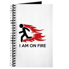 I Am On Fire Journal