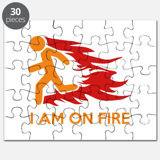 I Am On Fire Puzzle