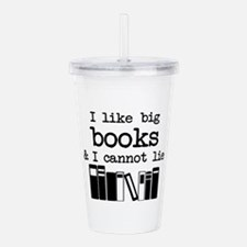 I like Big Books Acrylic Double-wall Tumbler