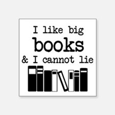 I like Big Books Sticker