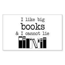 I like Big Books Decal