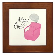 Magic Chair Framed Tile