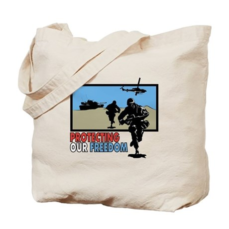 Protecting Our Freedom Tote Bag