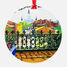 French Quarter Street Tile. Ornament