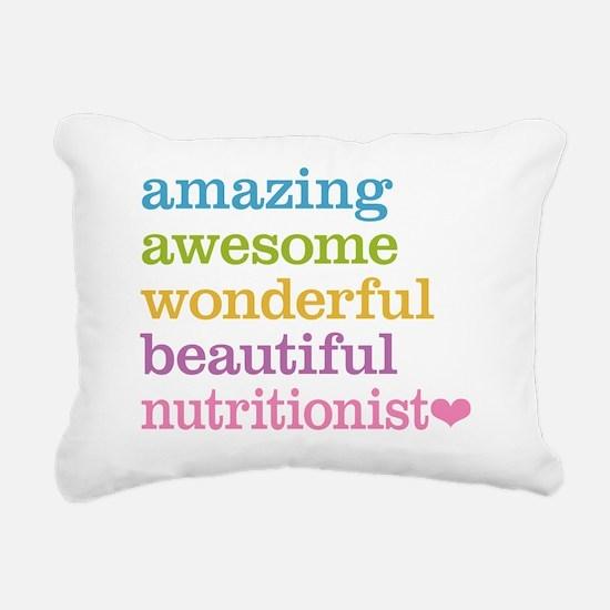 Nutritionist Rectangular Canvas Pillow