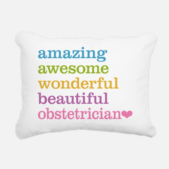 Obstetrician Rectangular Canvas Pillow
