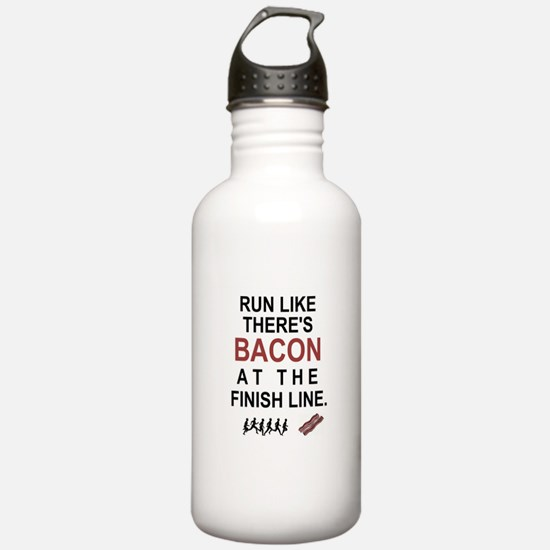 Will Run for Bacon Water Bottle