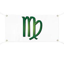Virgo Sign Banner