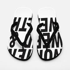 Women Weed & Wealth Flip Flops