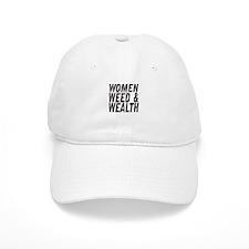 Women Weed & Wealth Baseball Cap