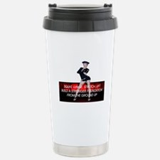 Workout Routine Stainless Steel Travel Mug