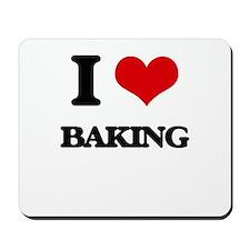 I Love Baking Mousepad