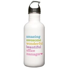 Office Manager Water Bottle