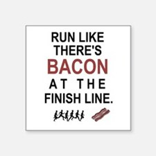 Will Run for Bacon Sticker
