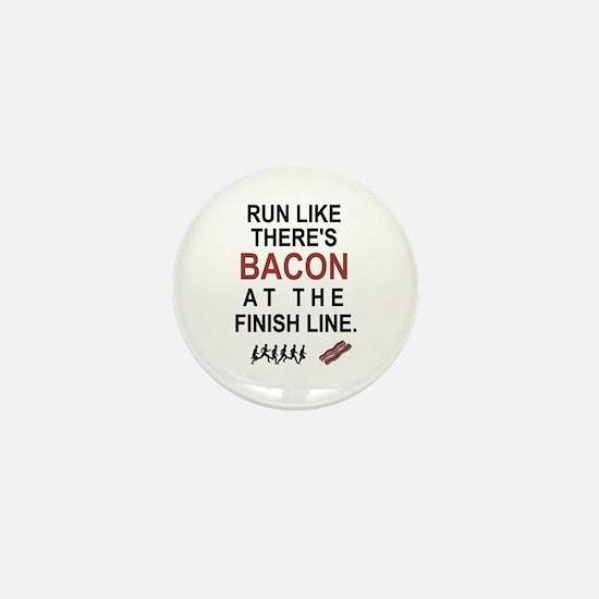 Will Run for Bacon Mini Button
