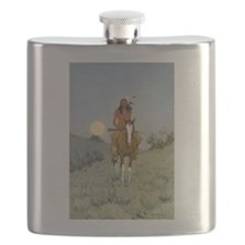 Frederick REmington The Outlier Flask