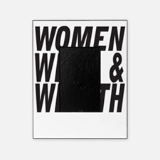Women Weed & Wealth Picture Frame