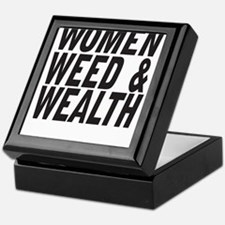 Women Weed & Wealth Keepsake Box