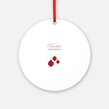 Chinese New Year Ornament (Round)