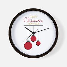 Chinese New Year Wall Clock