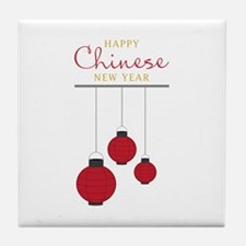 Chinese New Year Tile Coaster