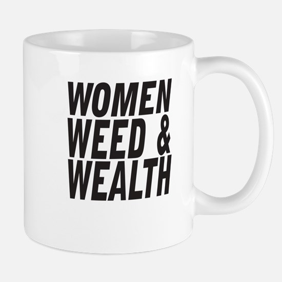 Women Weed & Wealth Mugs