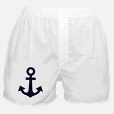 Cute Anchors Boxer Shorts