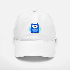 Owl (Blue) Baseball Baseball Cap