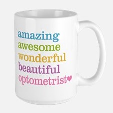 Awesome Optometrist Large Mug