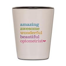 Awesome Optometrist Shot Glass