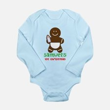 Babys 1st Christmas Gingerbread man Body Suit