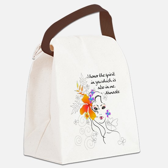 yoga147.png Canvas Lunch Bag